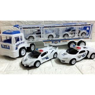 Xe ô tô cảnh sát mô hình NO 566-66