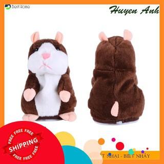 [HÀNG CHẤT LƯỢNG] Đồ chơi Chuột Hamster thông minh biết nhại biết nói biết nhảy – Talking Hamster