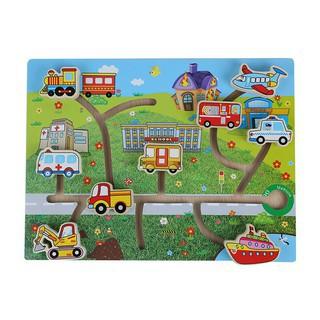 Bảng mê cung phương tiện giao thông