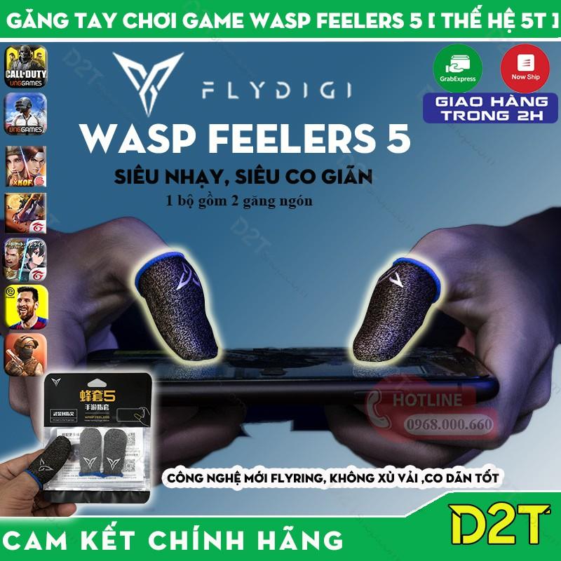 [THẾ HỆ 4 ] Flydigi Wasp Feelers 4   Găng tay chơi game PUBG, Liên quân, chống mồ hôi tốt hơn, nhạy hơn, in nhiệt 3M mới