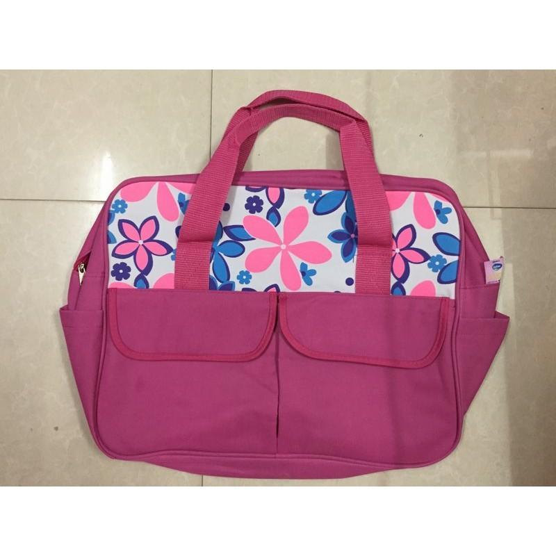 Túi đựng đồ cho mẹ và bé Dielac hoa (hồng) - 9927609 , 575569728 , 322_575569728 , 40000 , Tui-dung-do-cho-me-va-be-Dielac-hoa-hong-322_575569728 , shopee.vn , Túi đựng đồ cho mẹ và bé Dielac hoa (hồng)