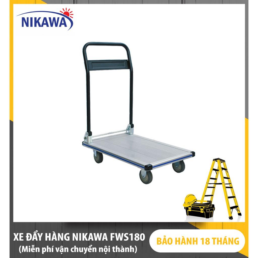 [ Giao tại Hà Nội ] Xe Đẩy Hàng Nikawa FWS-180
