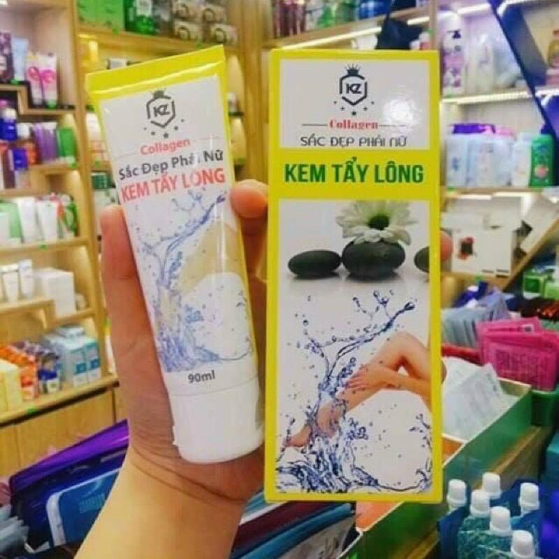 Kem tẩy lông collagen