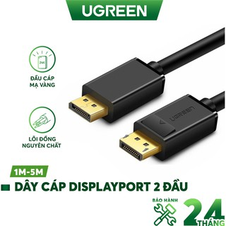 Dây cáp DisplayPort 2 đầu đực tốc độ 21.6Gbps UGREEN DP102 thumbnail