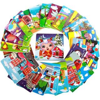 Combo 12 – Ghép hình 20 mảnh nhiều chủ đề cho bé