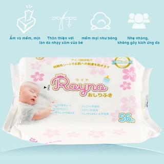 ( Mua 3 tặng 1) Mua Combo 3 gói khăn ướt Rayna