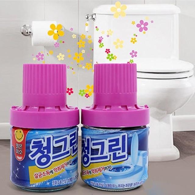 Chai thả bồn cầu Hàn Quốc khử mùi, diệt khuẩn