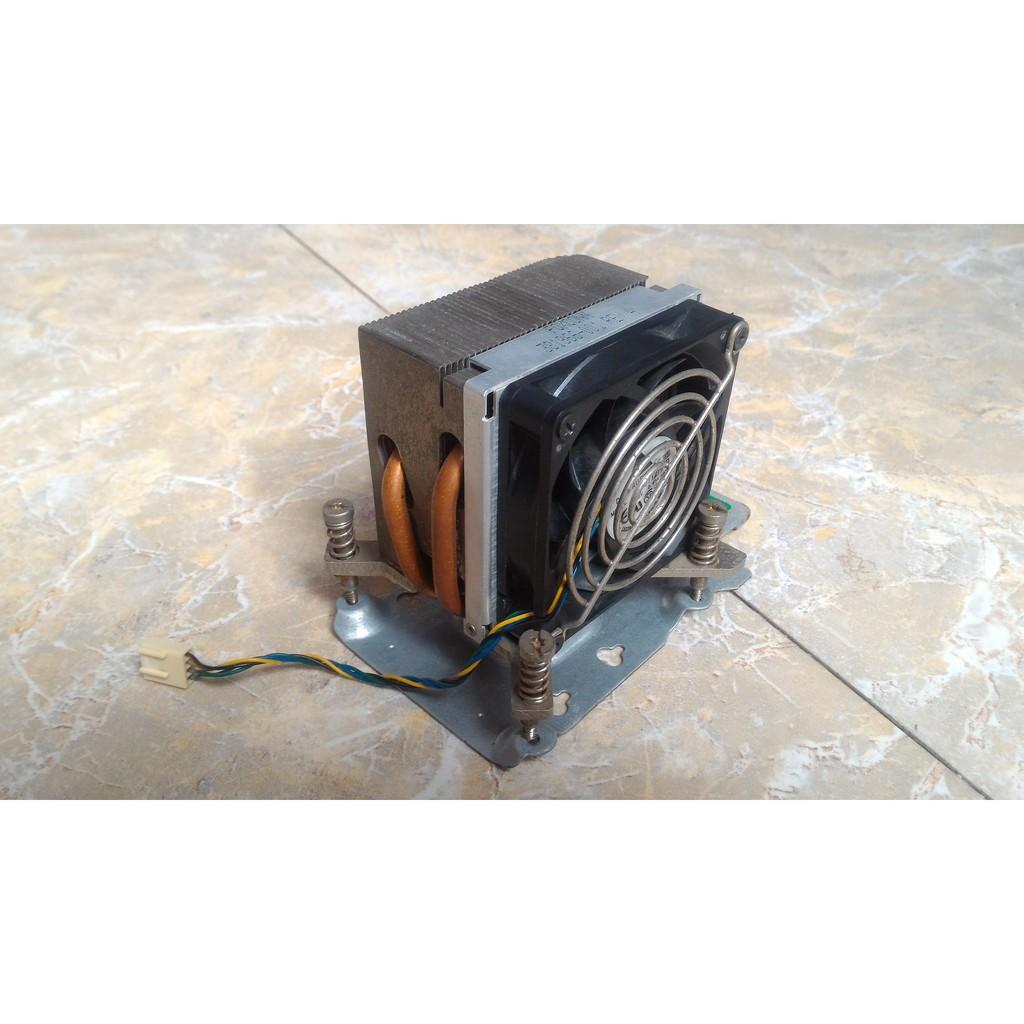 Tản nhiệt Foxconn 2 ống đồng socket LGA775 tháo máy đồng bộ