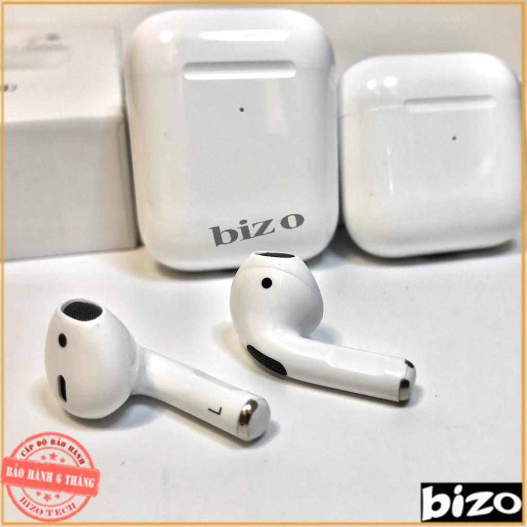 [BẢN NÂNG CẤP - BH 6 THÁNG]] Tai nghe mini Airpods Pro 4 Bluetooth 5.0 TWS, cảm biến, đổi tên, định vị chuẩn