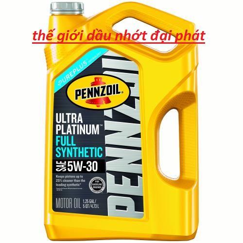 pennzoil 5w30 mới nhất dầu nhớt nhập khẩu 100% từ mỹ