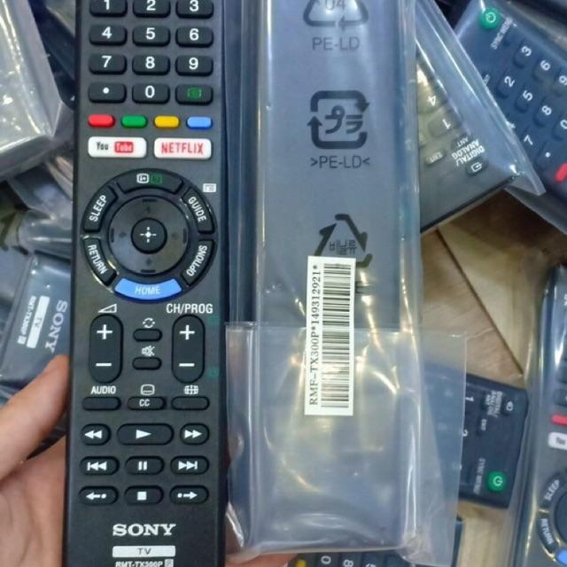 ĐIỀU KHIỂN TV SONY TX-300P ĐA ĐĂNG DÙNG CHUNG MỌI DÒNG SONY