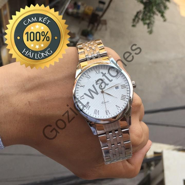 Đồng hồ nam dây thép cao cấp không gỉ chống nước siêu bền SKMEI SM21 -Gozid.watches