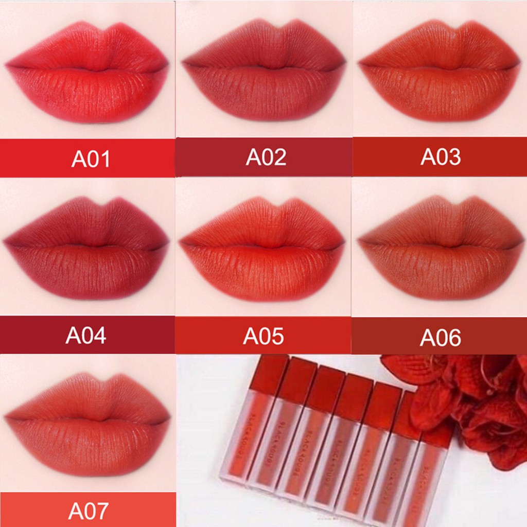 Son Kem Lì Black Rouge Air Fit Velvet Tint Version 1   Shopee Việt Nam