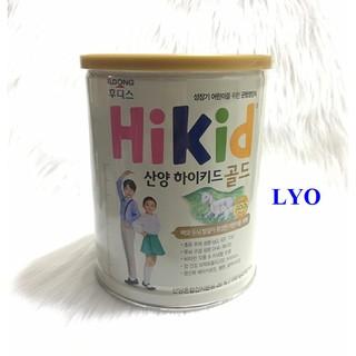 Bán sỉ 4 hộp sữa hikid Gold dê núi 700g - nội địa Hàn Quốc thumbnail