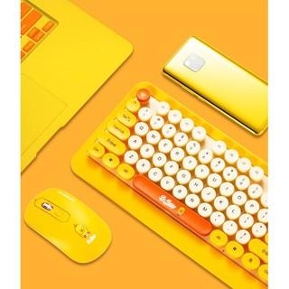 Combo bàn phím và chuột hoạt hình không dây – siêu siêu cute