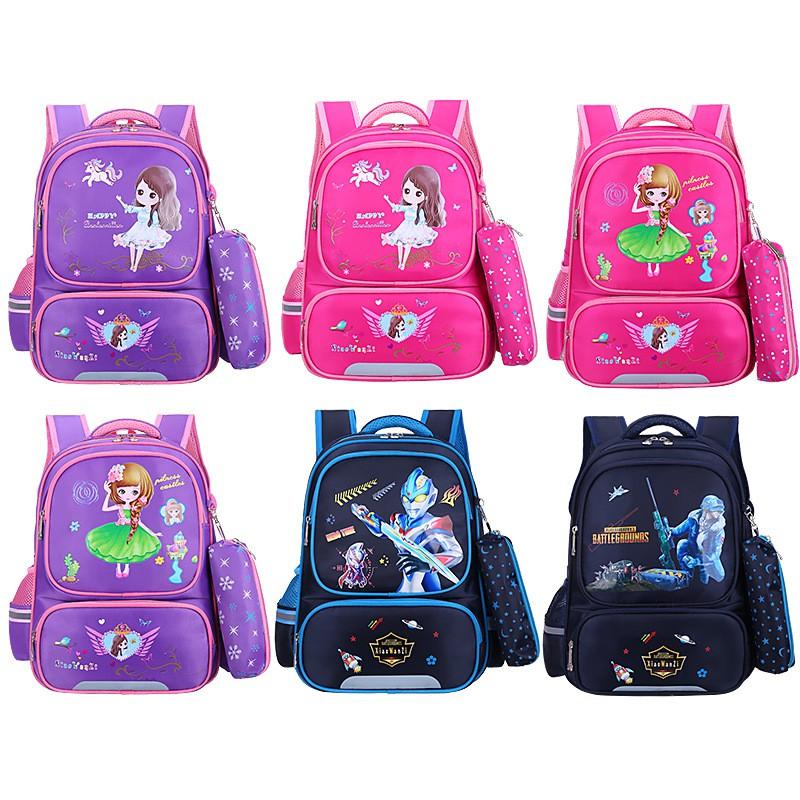 [MẪU MỚI] Balo cho bé gái cấp 1, Balo công chúa, Ba lô, Cặp học sinh , Cặp đi học cho nữ lớp 1 đến lớp 4 chống thấm nước
