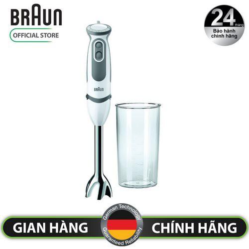 Máy Xay Cầm Tay Braun MQ5000 Soup Vario 750W (Trắng)