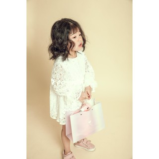 Đầm Ren Bé Gái Dáng Baby Doll (4-13 tuổi) Jookyli
