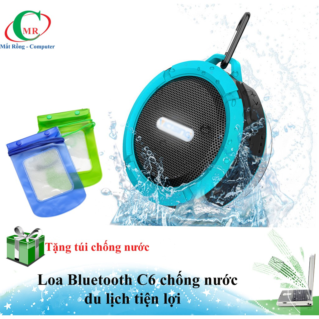 [Tặng túi chống nước cho ĐT] Loa bluetooth C6 mini chống nước, chống sốc - Hàng về đủ màu - 3487130 , 1105079991 , 322_1105079991 , 165000 , Tang-tui-chong-nuoc-cho-DT-Loa-bluetooth-C6-mini-chong-nuoc-chong-soc-Hang-ve-du-mau-322_1105079991 , shopee.vn , [Tặng túi chống nước cho ĐT] Loa bluetooth C6 mini chống nước, chống sốc - Hàng về đủ m