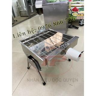 Bếp nướng than hoa tự xoay Mini 5S