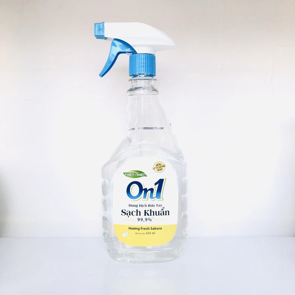 Dung dịch rửa tay và xịt sát khuẩn ON1