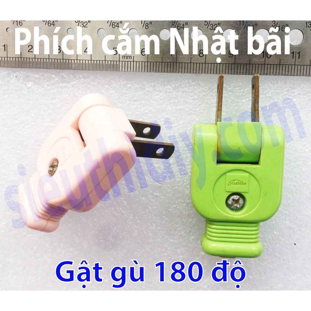 Phích cắm Nhật bãi gật gù 180 độ chính hãng nhiều thương hiệu - 3013923 , 387854611 , 322_387854611 , 28000 , Phich-cam-Nhat-bai-gat-gu-180-do-chinh-hang-nhieu-thuong-hieu-322_387854611 , shopee.vn , Phích cắm Nhật bãi gật gù 180 độ chính hãng nhiều thương hiệu