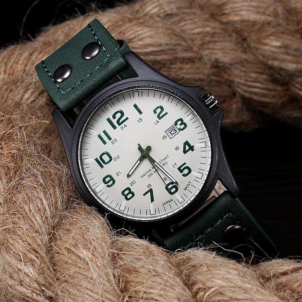 Đồng hồ dây da thể thao cho nam kiểu C