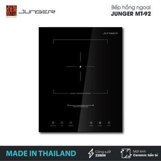 Bếp đơn hồng ngoại Junger MT-92 - Công suất 2200W - mặt kính Ceramic | Bảo hành 12 tháng chính hãng | MADE IN THAILAND