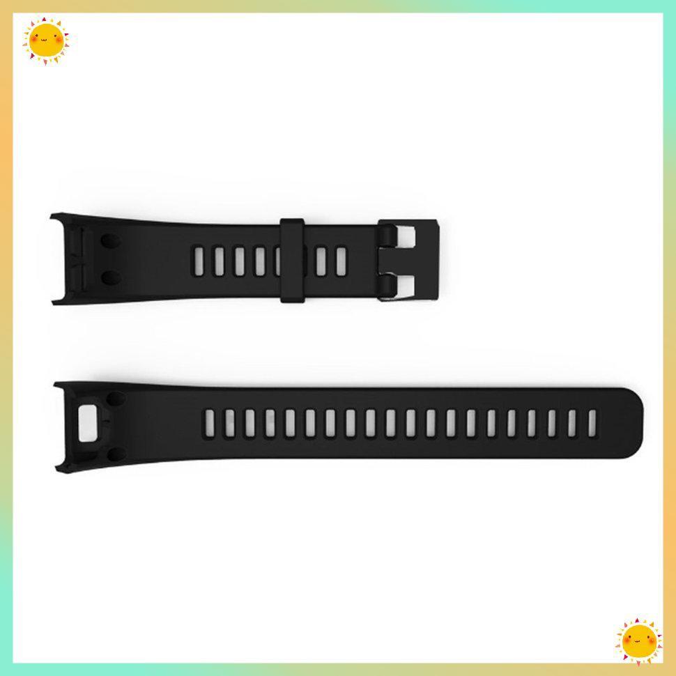Dây đeo thay thế bằng silicon màu trơn cho garmin vivosmart hr chất lượng cao