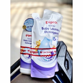Combo nước giặt Pigeon siêu tiết kiệm ( bình 500ml+ túi 450ml) thumbnail