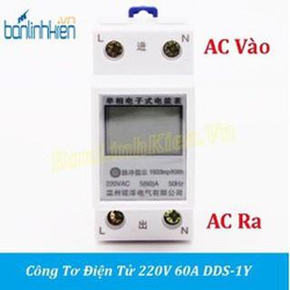 Công tơ điện tử, thiết bị đo công suất SAITON ABB 65A shop