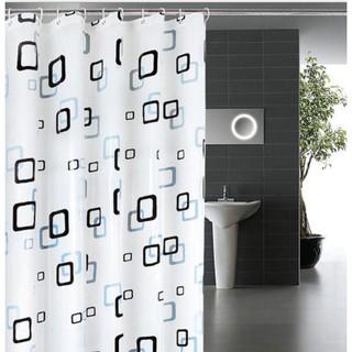 Rèm cửa phòng nhà tắm, Màn che nhà tắm