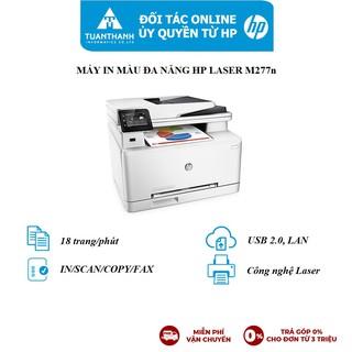 Máy in màu đa chức năng HP Color LaserJet Pro MFP M277n_1Y WTY_B3Q10A
