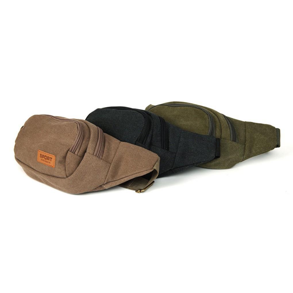 Shoulder Bag Hiking Men'S Wallet Travel Waist Hip Pack