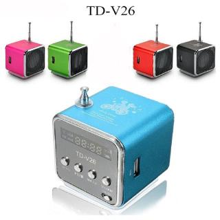 Star✨ TD-V26 Mini Speaker Portable Micro SD TF Card USB Disk Stereo for DVD Laptop