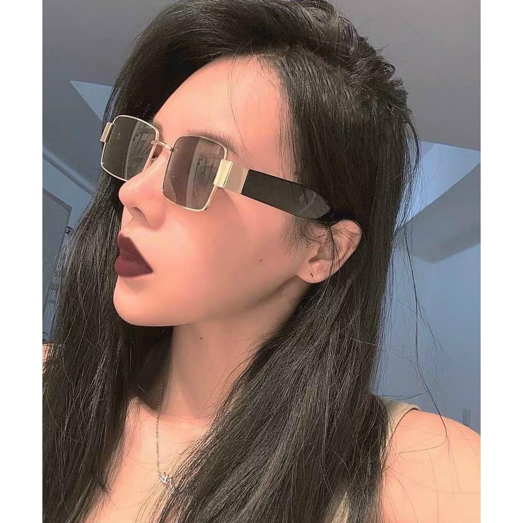 Kính mắt thời trang Super hot girl - sang chảnh - Tặng Hộp + khăn lau