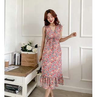 OLV - Đầm Pink Floral Dress thumbnail