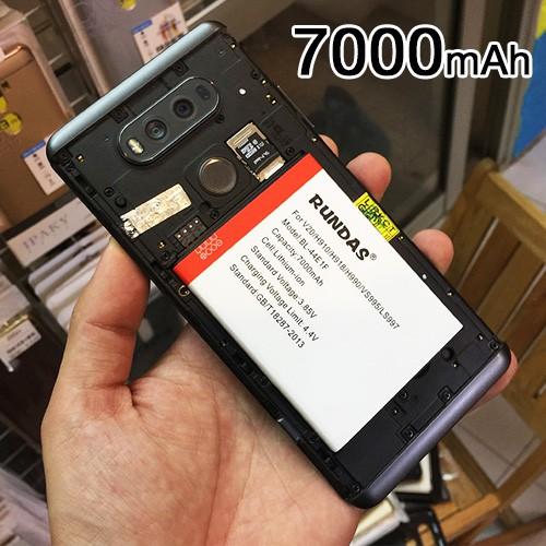 Pin dung lượng cao 7000mAh Rundas LG V20 (Hàng chính hãng)