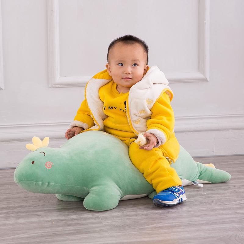 ❒Bubble Dragon Doll plush toy lazy man pillow cute girl sleeping hug rag Super sprout Dinosaur