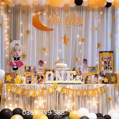 Vải Rèm trang trí sinh nhật, phông rèm sân khấu, backdrop