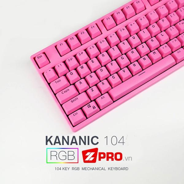 Bàn phím cơ Kananic JD104 Pink - 2848046 , 733695703 , 322_733695703 , 1090000 , Ban-phim-co-Kananic-JD104-Pink-322_733695703 , shopee.vn , Bàn phím cơ Kananic JD104 Pink