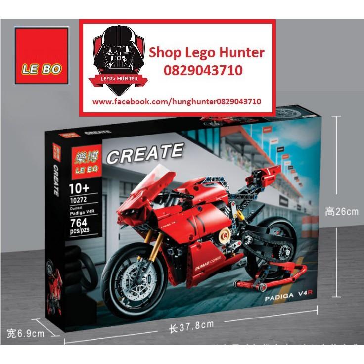 Lego Technic Ducati Panigale V4 R Xe máy PKL 764 chi tiết
