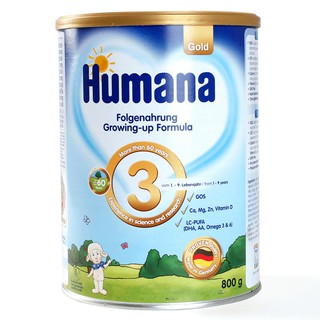 Sữa Humana Gold số 3, 800g