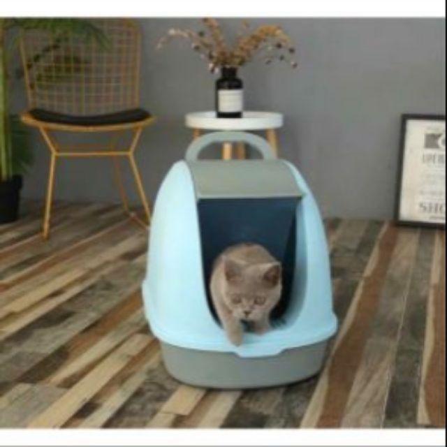 Nhà vệ sinh mèo cao cấp + tặng kèm xẻng