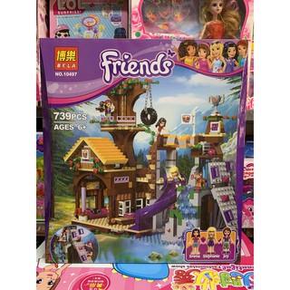 Xếp hình lắp ghép lego BELA Friends 10497