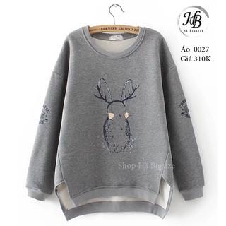 Áo len tan ngắn Bigsize – Quảng Châu