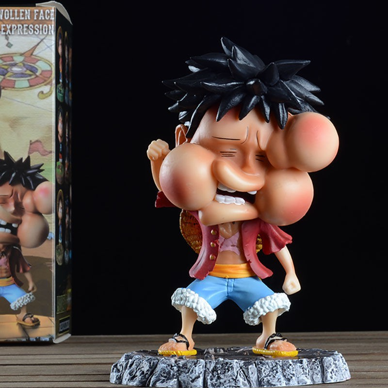 ﺴ✾☈One Piece ra tay làm tội phạm thứ hai Luffy Đánh bại Luffy Q phiên bản anime kỉ niệm chương trình trang trí ô tô quà