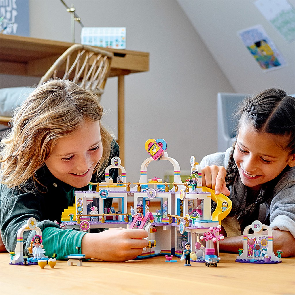 Đồ Chơi Lắp Ráp LEGO FRIENDS Trung Tâm Mua Sắm Heartlake 41450 Cho Bé Trên 8  Tuổi giá cạnh tranh