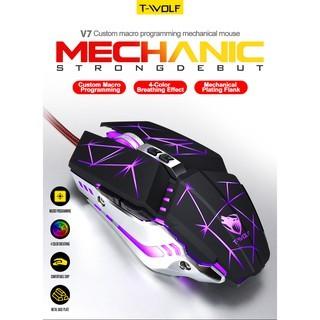 Chuột Gaming Có Dây M-Max T-Wolf V7