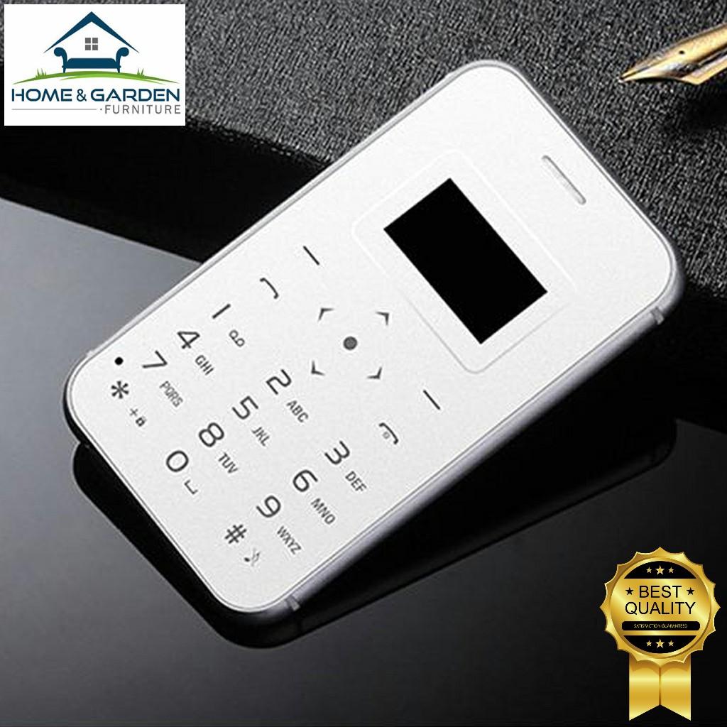 Combo điện thoại mini Aiek X8 siêu nhỏ 2018 (silver) + tặng sạc dự phòng 2600mAh